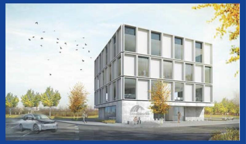 Baustellenbesichtigung: Stadtwerke Neubau