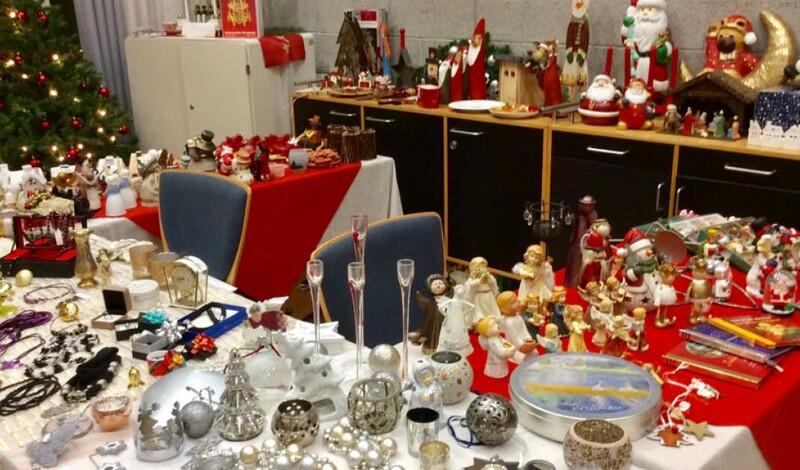 Aufruf: festliche Dekoartikel für Weihnachtsflohmarkt am 6.12. abgeben