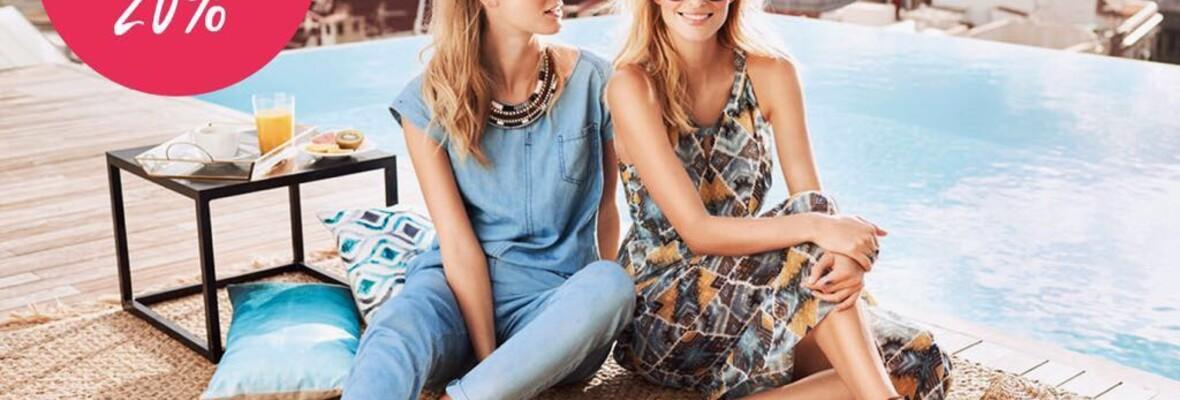 Sale: 20% auf bereits reduzierte Sommer- und Bademode