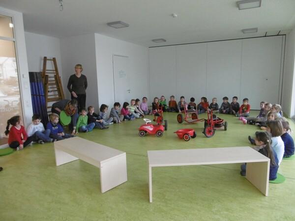 2014 Spende Kindergarten Schmetterling