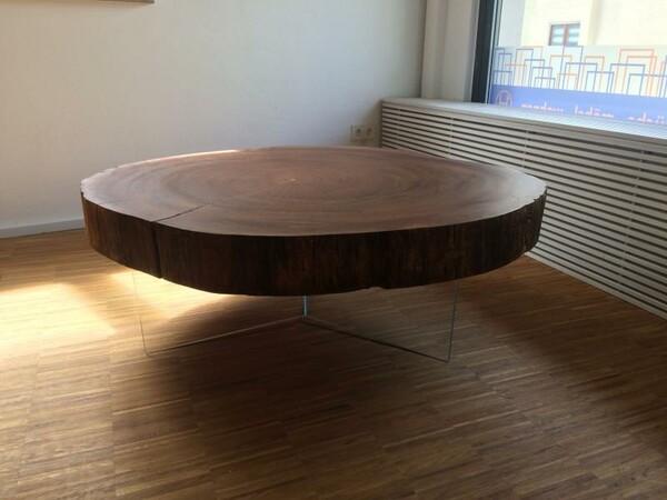 UNIKAT für Massivholzfreunde - Ein Couchtisch handwerklich gefertigt
