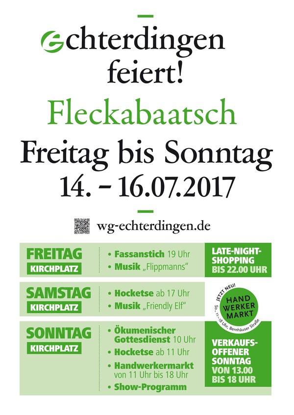 Fleckabaatsch 2017