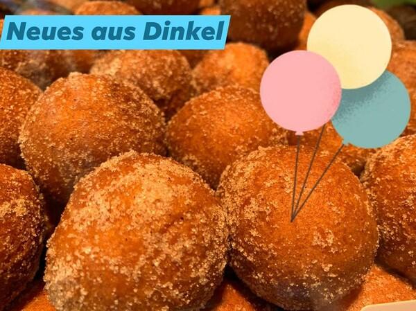 Unsere Dinkel-Quarkbällchen und unsere Dinkel-Schoko-Quarkbällchen