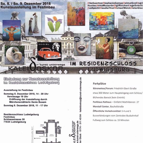 Ausstellung 2018: Kunstausstellung im Residenzschloss Ludwigsburg