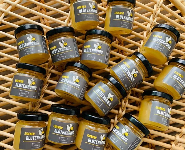 Probiert unseren leckeren Honig - ab sofort in all unseren Cafés