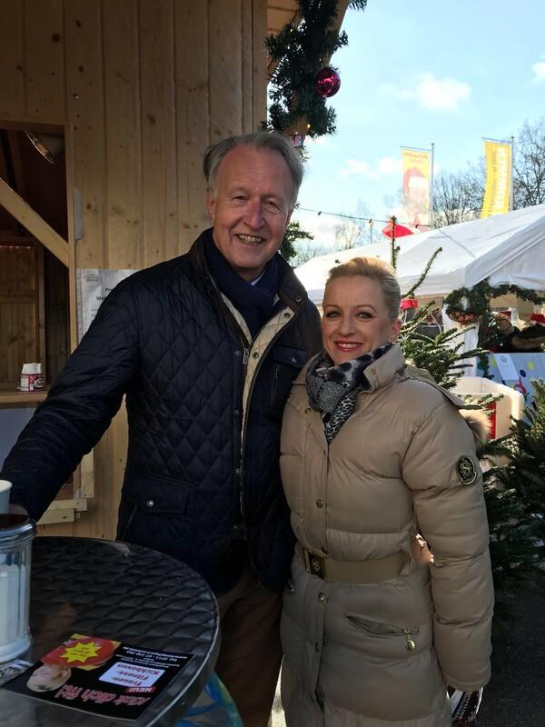 OB Roland Klenk + Romy Giessler (1. Vorsitz VLG)