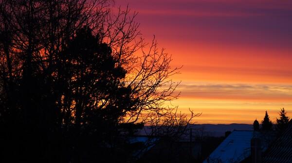 7:35 in LE (Foto: FM 15.2.21)